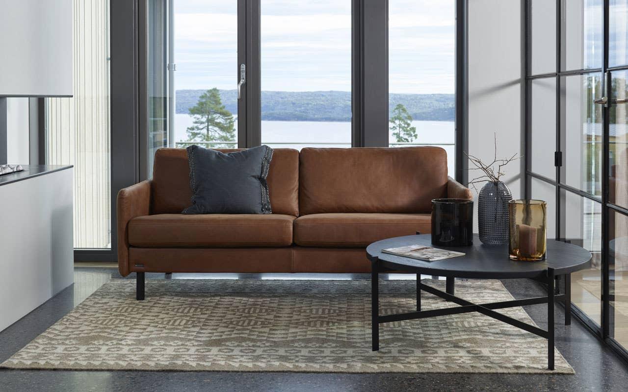 4 ting å tenke på når du skal velge ny sofa, Brunstad Fantasy 3-seter