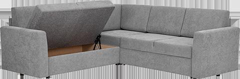 Balder sovesofa er elegant og komfortabel som sofa – og minst like komfortabel når du har gjort den om til en seng. Møbelet er laget for å tåle bruk, og sofaen egner seg like godt i stuen som på gjesterommet.