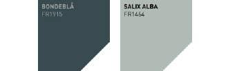 Fargerike palett: Bondeblå og Salix Alba