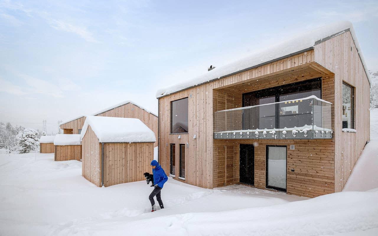Ny hytte på Gaustablikk