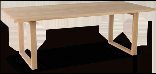 Samle familien rundt et vakkert spisebord i tre. Dette fra Woodstory har moderne linjer, men bygger på en lang håndverkstradisjon, og passer like godt på hytta som hjemme.
