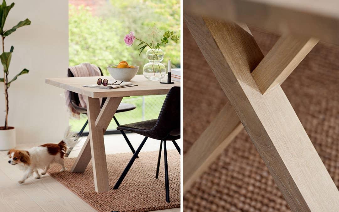 Naturmaterialer som tre er en av høstens viktigste tendenser. Møbelserien Woodstory, som du får eksklusivt hos Møbelringen, lar deg skreddersy møblene etter dine ønsker og behov.