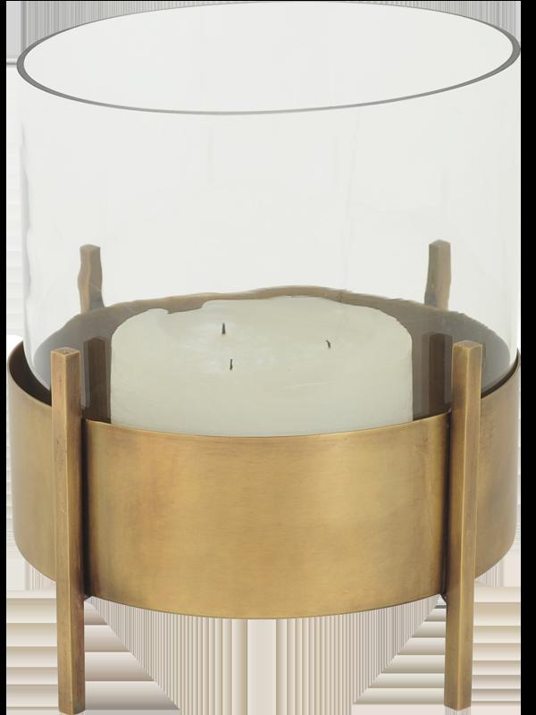 En lyslykt som denne fra Hødnebø skaper en lun og hyggelig førjulsstemning. Den rommer ekstra store lys, så du kan nyte levende lys i mange timer.