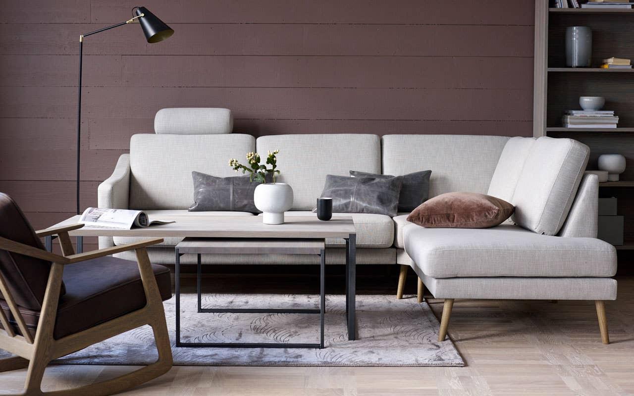 Velg sittekomfort med Hjellegjerde Anne modulsofa