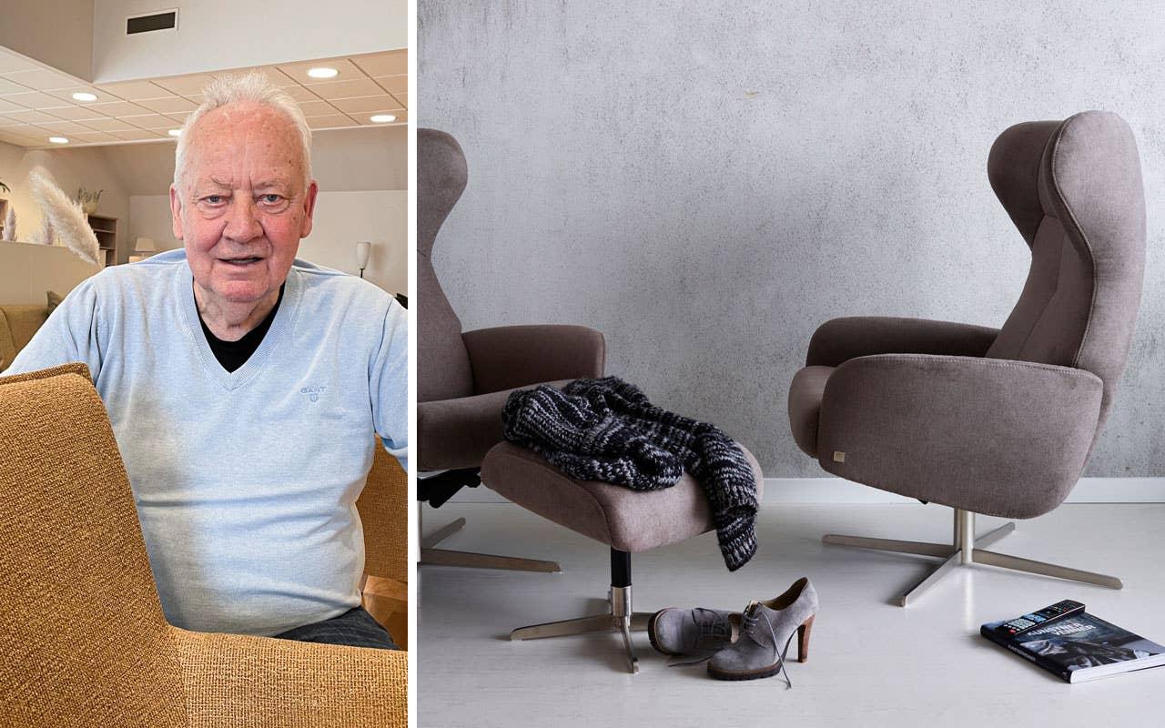 Gunnar Stavseng har lang erfaring og vet akkurat hvilke møbelkvaliteter som fungerer best i de norske hjem. Lenestolen Runde er en stødig og stilren klassiker fra Stordal.