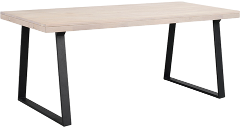 Alltid plass til besøk! Det nye spisebordet Brooklyn fra Rowico kan utvides med klaffer, så du enkelt får plass til flere gjester. Bordet får du nå på kampanje, og det finnes både sofabord, skjenk og TV-bord i samme serie.