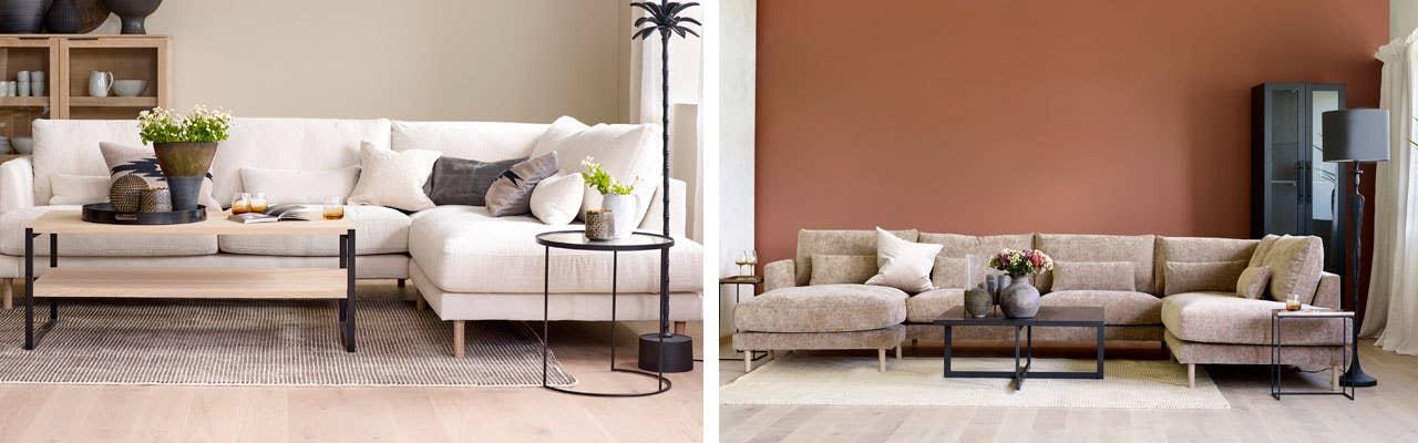 Den avslappede og stilige loungesofaen Stockholm fra Scapa lar deg velge og vrake i moduler som gjør at du kan sette sammen din egen modell. Du kan også velge blant flere faste oppsett. Den er utrolig behagelig å sitte i, og har en fast kjerne med softtop