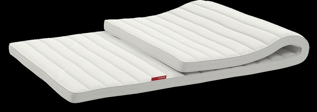 Overmadrassen løfter komforten på madrassen din, og gir hovedmadrassen lenger levetid. Tar du godt vare på overmadrassen, holder den også lenger.
