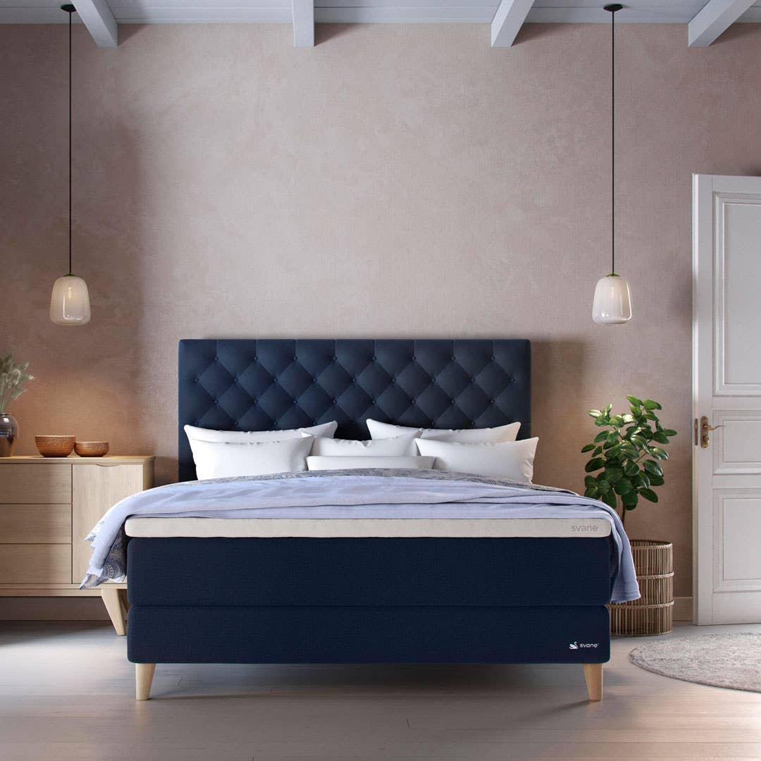 Mange senger kan tilpasses din soveromsstil, så det aller viktigste er å finne madrassen som gir ryggen din best mulig støtte.