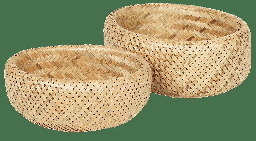 Elise kurvsett fra Broste Copenhagen er perfekt til oppbevaring av silkeskjerf, smykker og andre småting som trenger en fast plass.