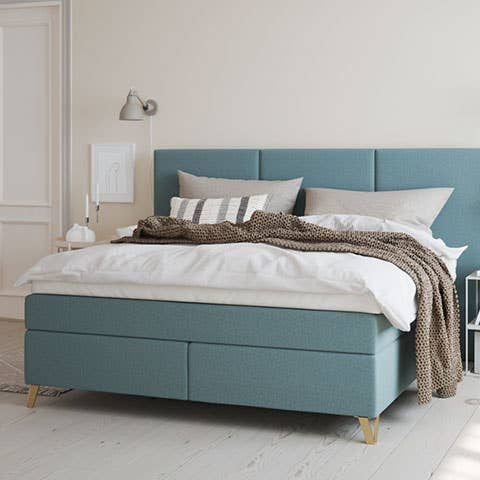 En god overmadrass gjør underverker for sengen din. En overmadrass som ventilerer godt, og som transporterer varme og fuktighet, gjør de varme sommernettene langt mer behagelige. Wonderland Excellence er en av de aller beste. Her i en Wonderland Smaragd.