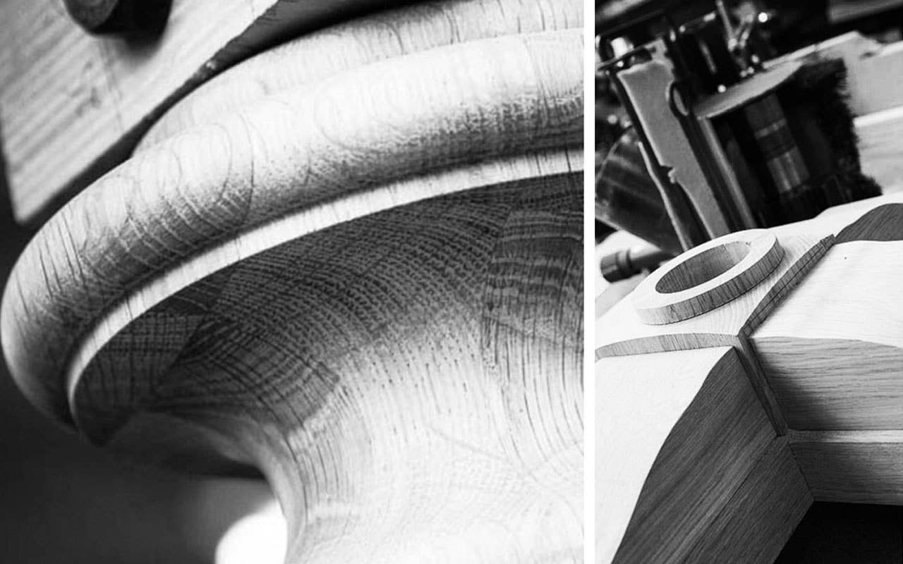 Woodstory detaljer ekte håndverk