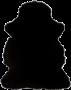 Saueskinn saueskinn/lammeskinn 50x90 cm