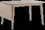 Filippa kjøkkenbord m/klaff 80x120-165 cm