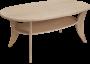 Pan sofabord 140x80 cm