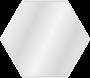 Speil Scandi Hexagon 60x60