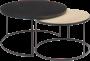 Choice sofabord sett Ø90 Ø70