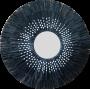 Seagrass speil Ø90/28 cm